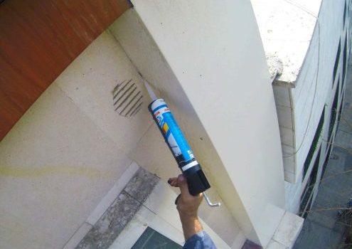 آب بندی یا آبیندی سنگ نمای ساختمان و نمای شیشه ایی و کامپوزیتی در تهران و کرج